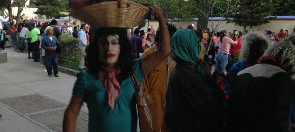 Festividades en comunidades mezcaleras